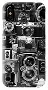 Vintage Camera Montage IPhone Case