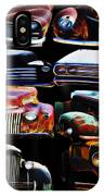 Vintage Cars Collage 2 IPhone Case