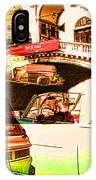 Vintage Cars Collage IPhone Case