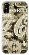 Vintage Coke IPhone Case
