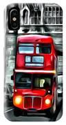 Vintage Double Decker In London IPhone Case