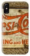 Vintage Drink Pepsi Cola 5 Cents Dsc07157 IPhone Case