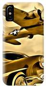 Vintage Earth Ancient Sky IPhone Case