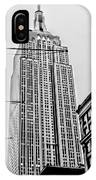 Vintage Empire State Building IPhone Case