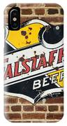 Vintage Falstaff Beer Shield Dsc07192 IPhone Case