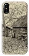 Vintage Farm Buildings IPhone Case