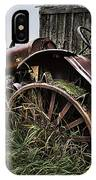 Vintage Farm Tractor Color IPhone Case