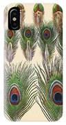 Vintage Feather Study-jp2084 IPhone Case