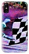 Vintage Formula 1 Race Checkered Flag  IPhone Case