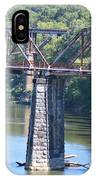 Vintage Garden City Bridge IPhone Case