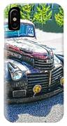 Vintage Gm Truck Frontal Hdr IPhone Case