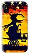 Vintage Halloween Scene IPhone Case