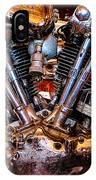 Vintage Harley Knucklehead IPhone Case
