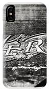 Vintage Hero Sign In Black And White  IPhone Case
