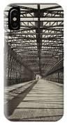 Vintage Iron Truss Bridge IPhone Case