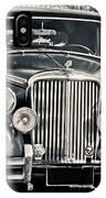 Vintage Jaguar 1950s IPhone Case