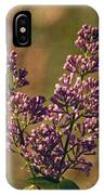 Vintage Lilac IPhone Case