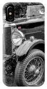 Vintage Mg IPhone Case