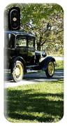 Vintage Moments Ford Tudor Model A IPhone Case
