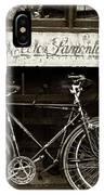 Vintage Montreal Bikes IPhone Case