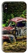 Vintage Old Forty's Pickup IPhone Case