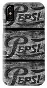 Vintage Pepsi Boxes IPhone Case
