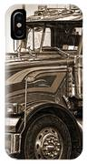 Vintage Peterbilt Truck IPhone Case