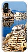 Lobster Traps In Maine IPhone Case