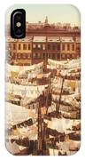 Vintage Photo Of Washing Day In New York City 1900 IPhone Case