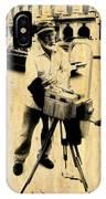 Vintage Photographer Tintype IPhone Case