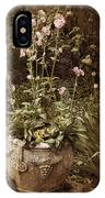 Vintage Planter IPhone Case