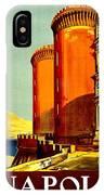 Vintage Poster - Napoli IPhone Case