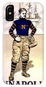 Vintage Poster - Naval Academy Midshipman IPhone Case