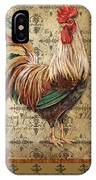 Vintage Rooster-a IPhone Case
