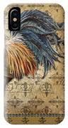 Vintage Rooster-c IPhone Case
