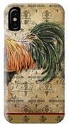Vintage Rooster-d IPhone Case
