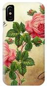 Vintage Roses For You IPhone Case