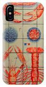 Vintage Seafood Sign 3 IPhone Case