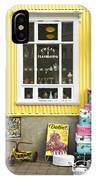 Vintage Shop In Akureyri Iceland IPhone Case