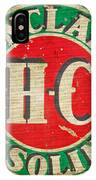 Vintage Sinclair Gasoline Sign IPhone Case