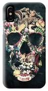 Vintage Skull IPhone Case