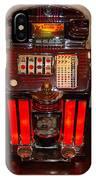 Vintage Slot Machine 25 Cents IPhone Case