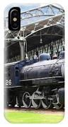 Vintage Steam Locomotive 5d29281 V2 IPhone Case