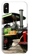 Vintage Steam Roller IPhone Case