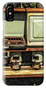Vintage Stove  100 Years Ago IPhone Case