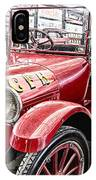 Vintage Studebaker Fire Engine IPhone Case