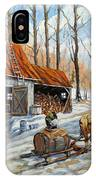 Vintage Sugar Shack By Prankearts IPhone Case