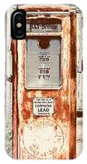 Vintage Tokheim Gas Pump IPhone Case
