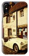Vintage Touch. Culross Sketches. Scotland IPhone Case