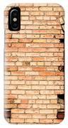Vintage Urban Brick Building - Salt Lake City IPhone Case